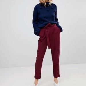 NWOT ASOS Trousers w/ tie